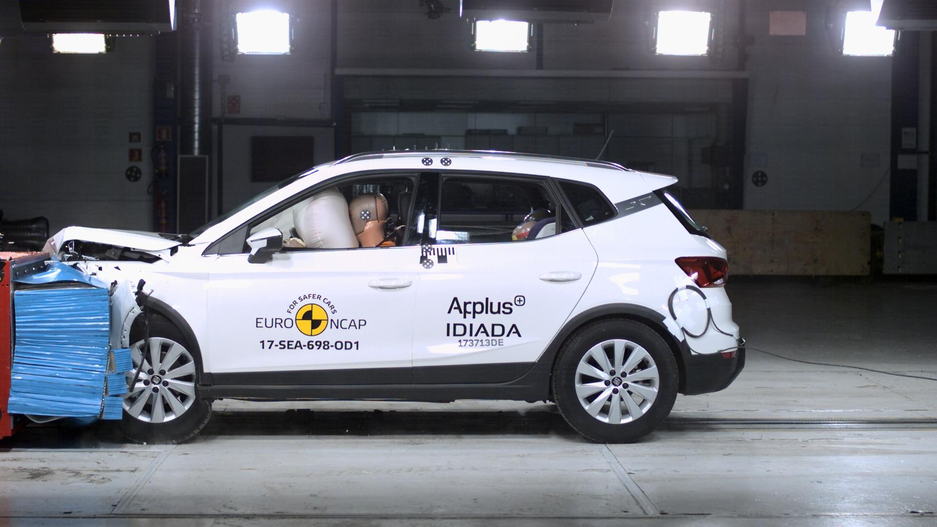 SEAT Arona Awarded Euro NCAP 5 Star Rating