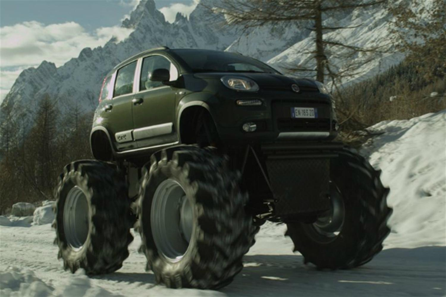 Fiat Unleash Panda Monster Truck