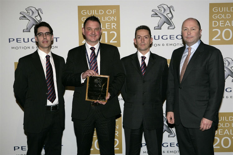 Perrys Peugeot Dealership wins prestigious performance award