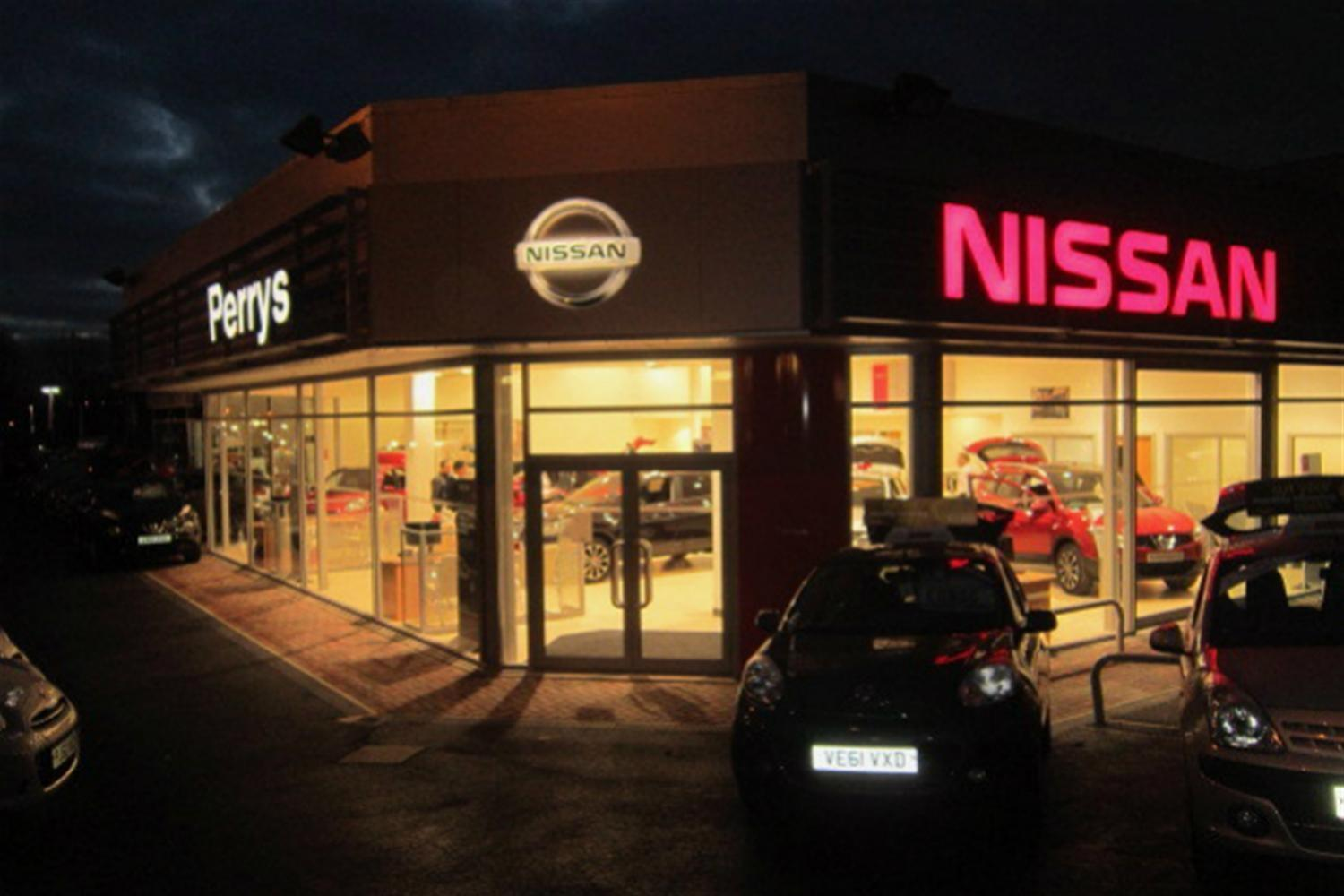 Perrys Open Nissan Blackburn Dealership