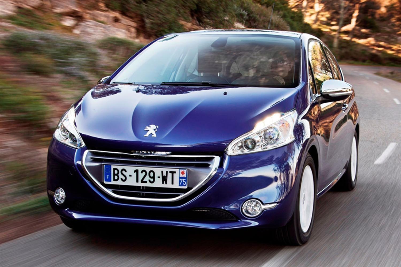 Peugeot 208 vs rivals