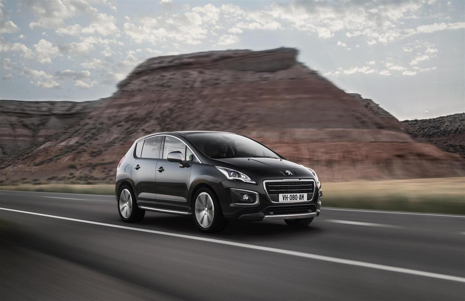 Enhanced Peugeot 3008 & 3008 HYbrid4 models