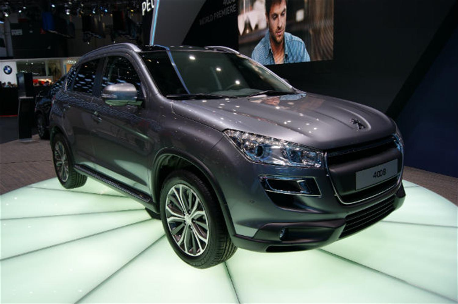 Peugeot prepares for 4008 launch