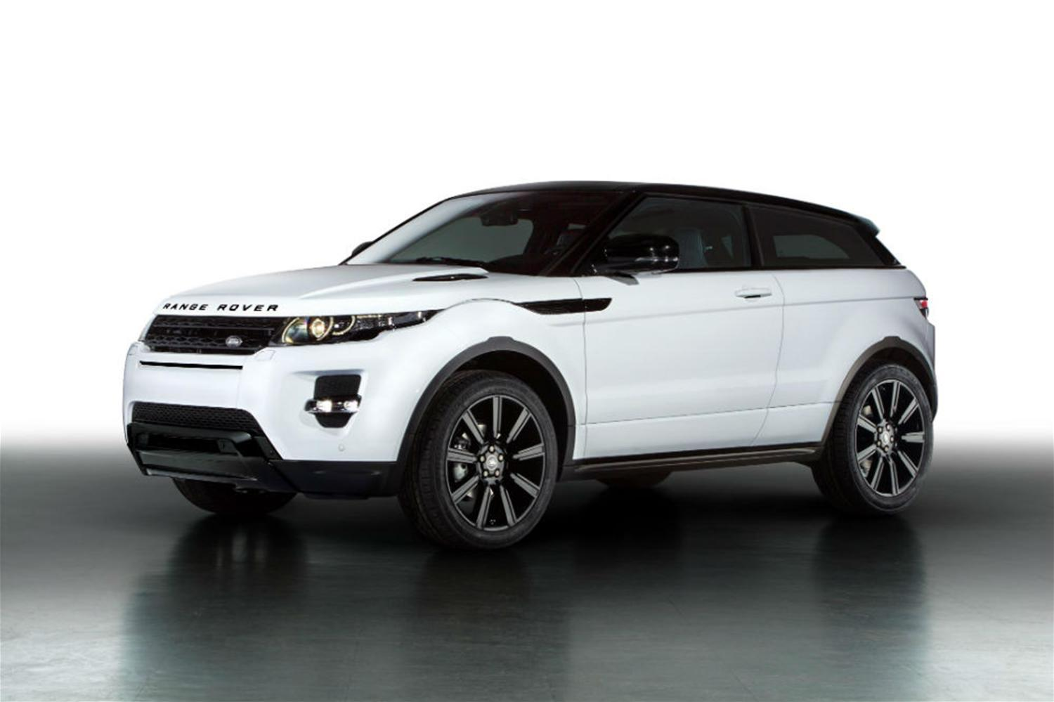 Range-Topping Evoque Receives Luxury Black Design Pack