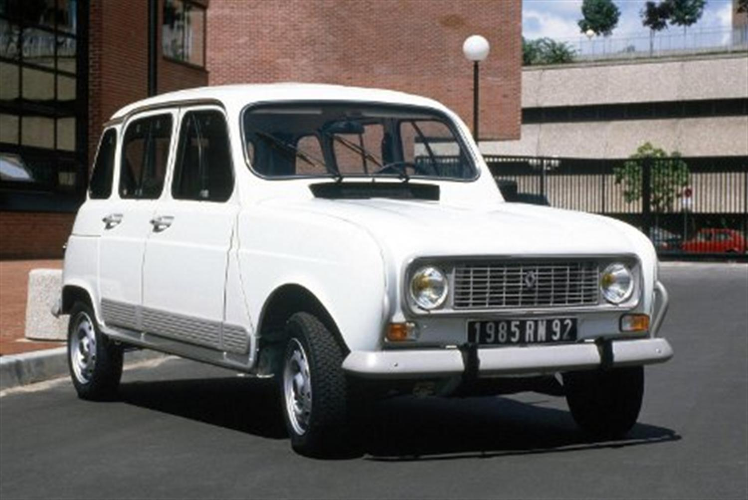 50 Years of the Renault 4