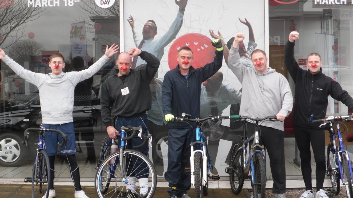 Perrys Preston staff complete epic charity bike ride