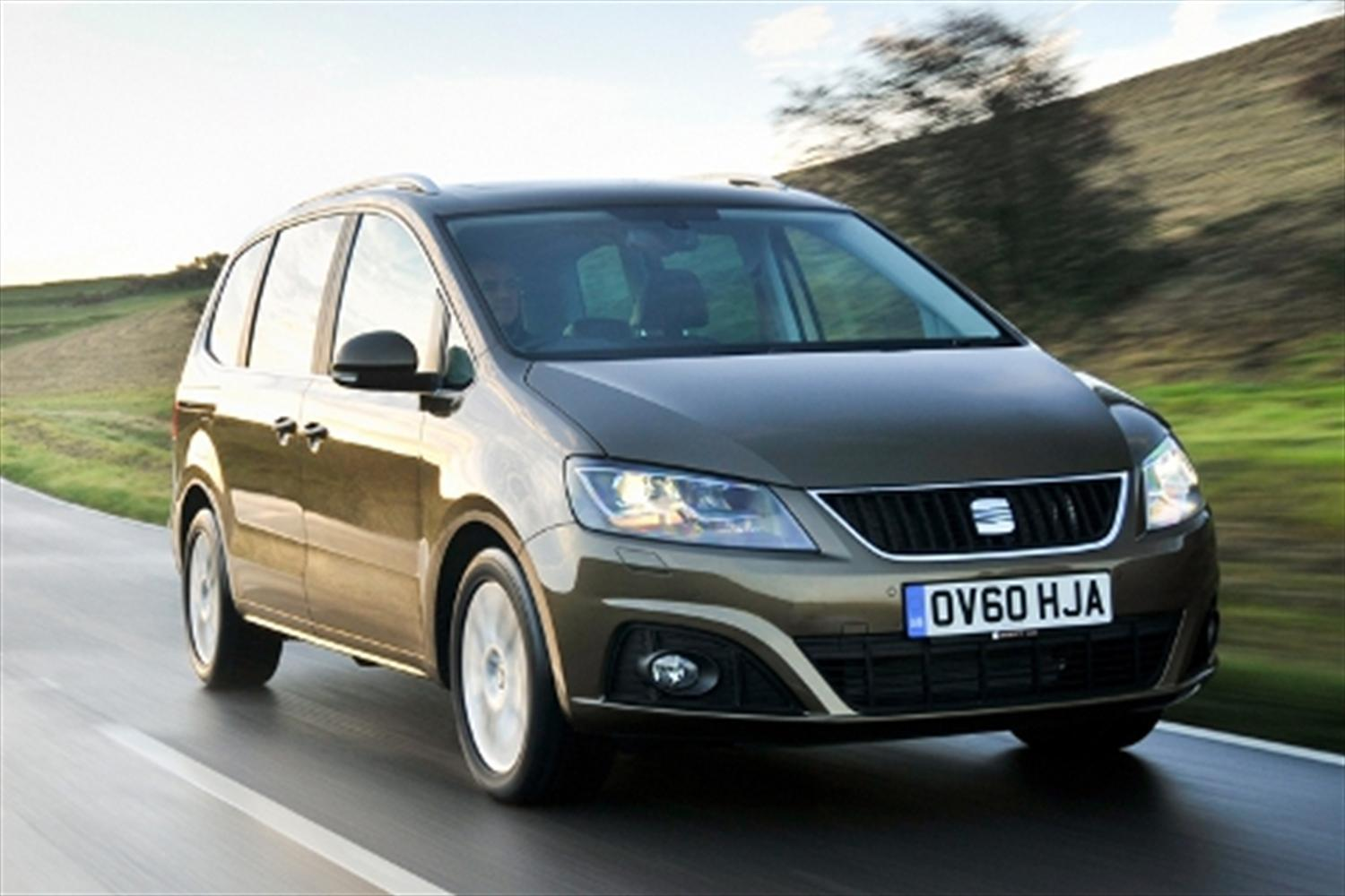 Top ten seven seat cars for 2012