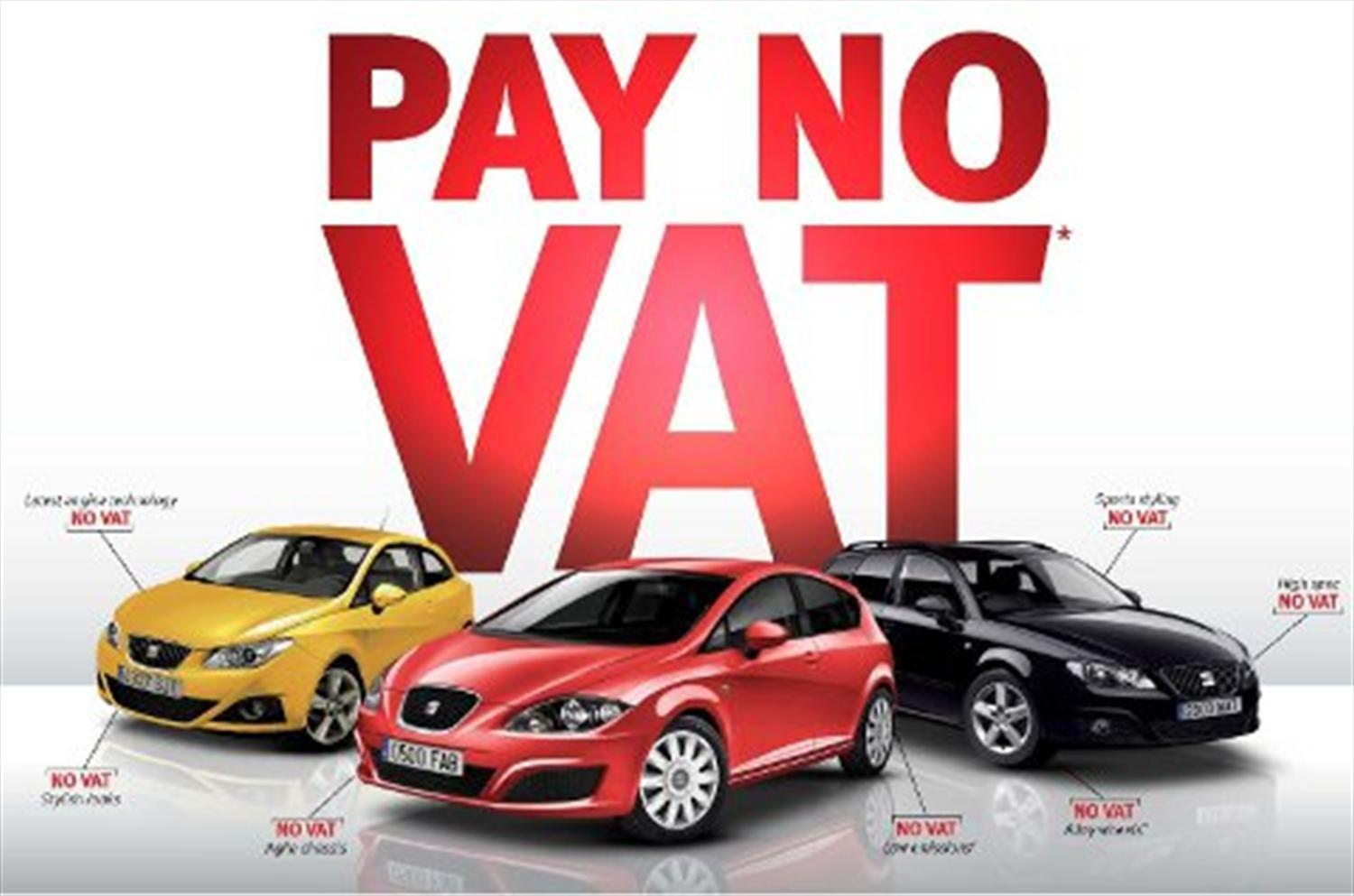 Seat Offers Vat-Free Deal