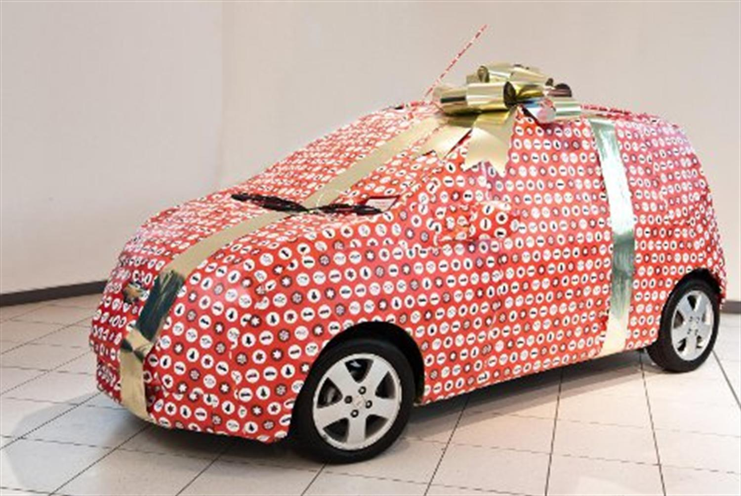 Chevy Announces Spark Wrapping Service