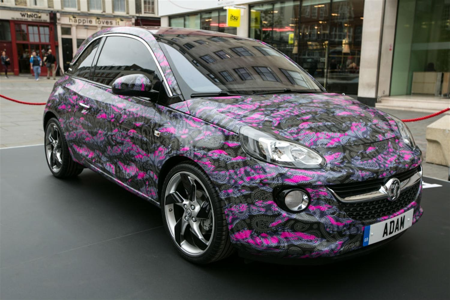 New Vauxhall Adam - A Fashionable Commodity