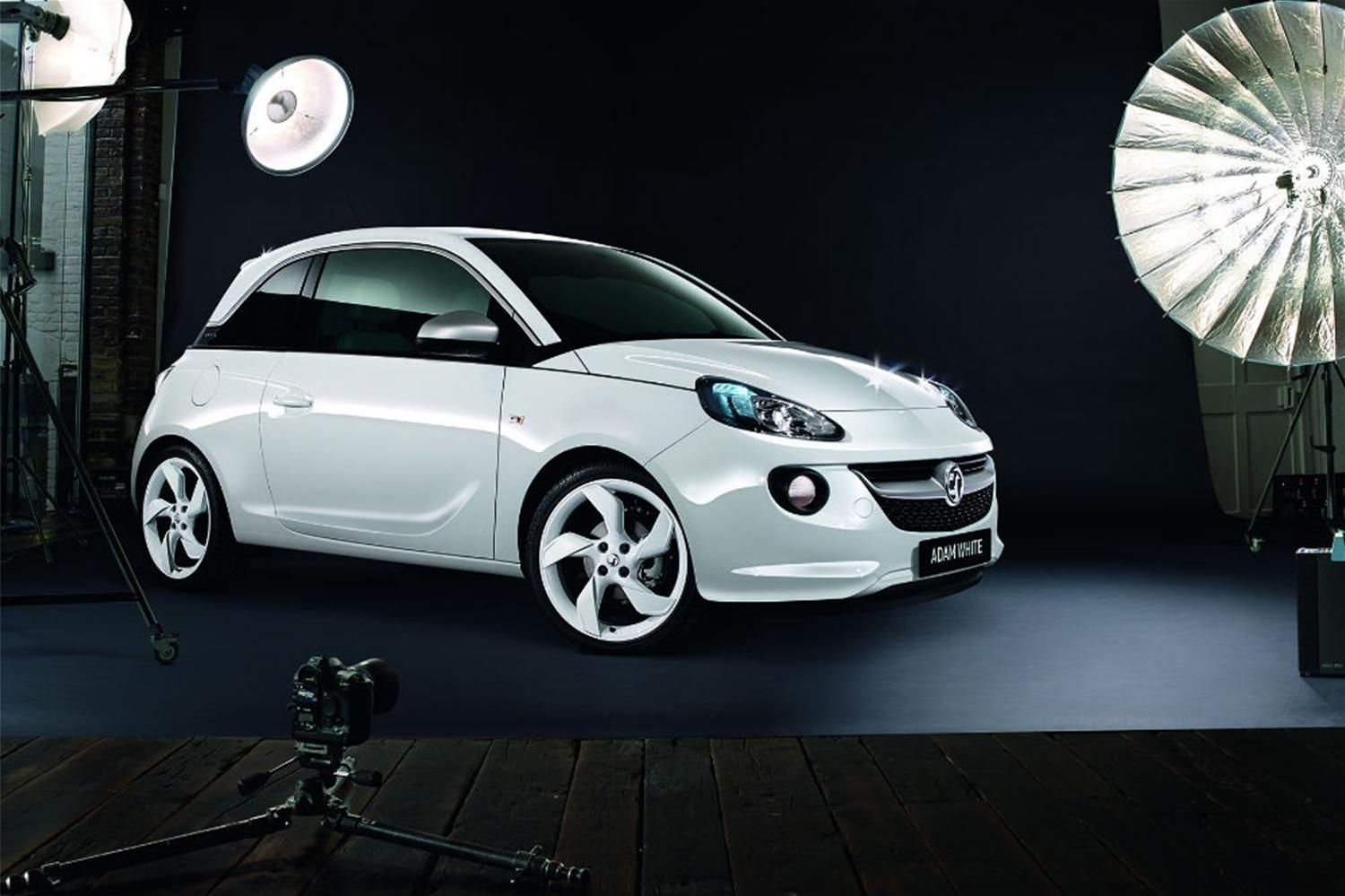 New Vauxhall Adam Black & White Limited Editions