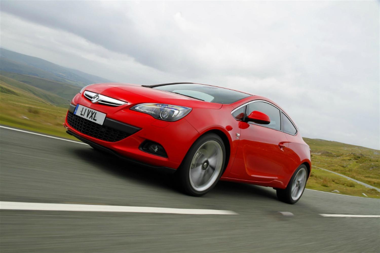 Vauxhall Astra GTC gets new 1.6 petrol engine