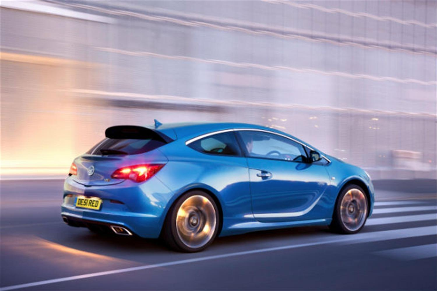 New Vauxhall Astra VXR prices announced