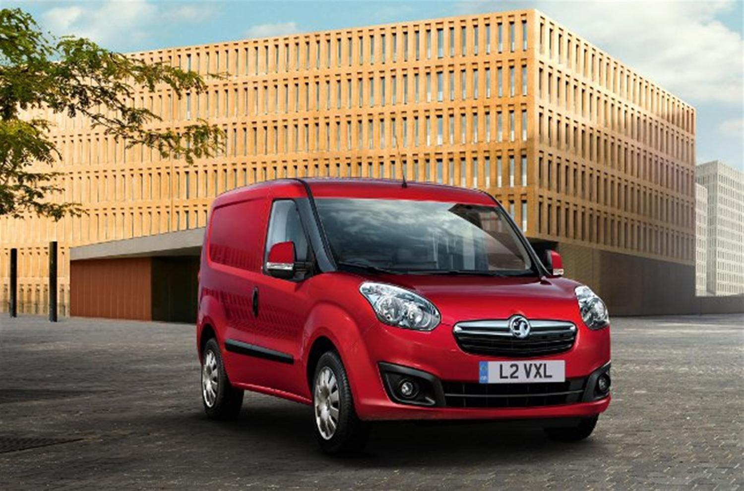 New 2012 Vauxhall Combo gets petrol engine