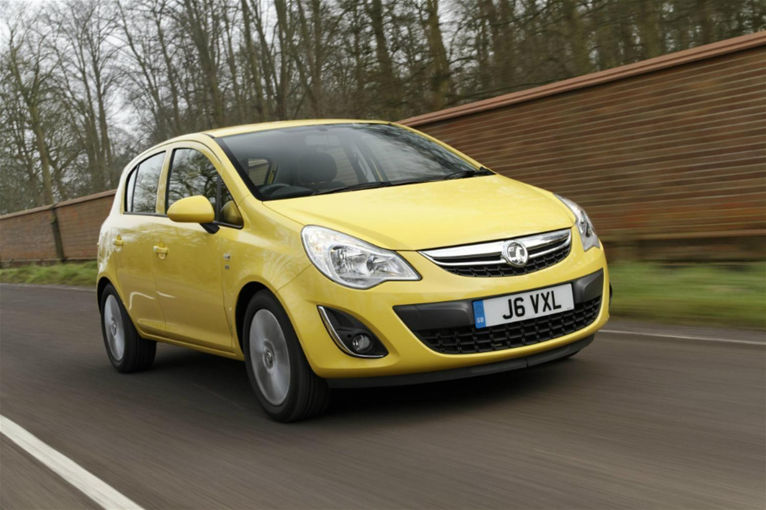 The Vauxhall Corsa specification range