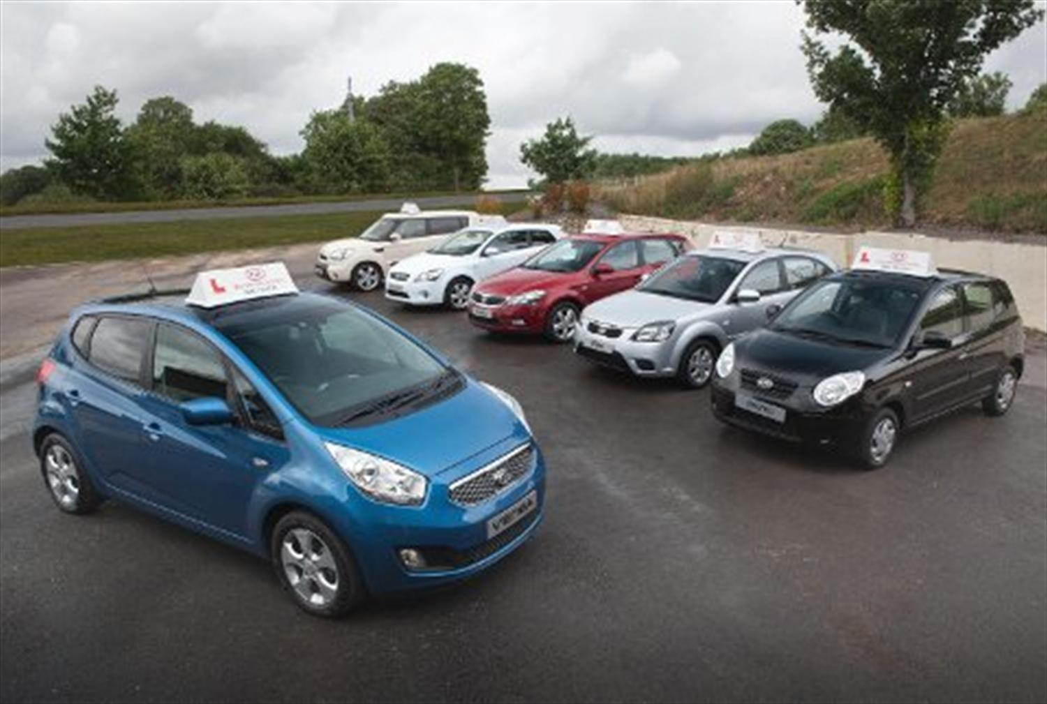 Kia Venga Added to Driving School Programme
