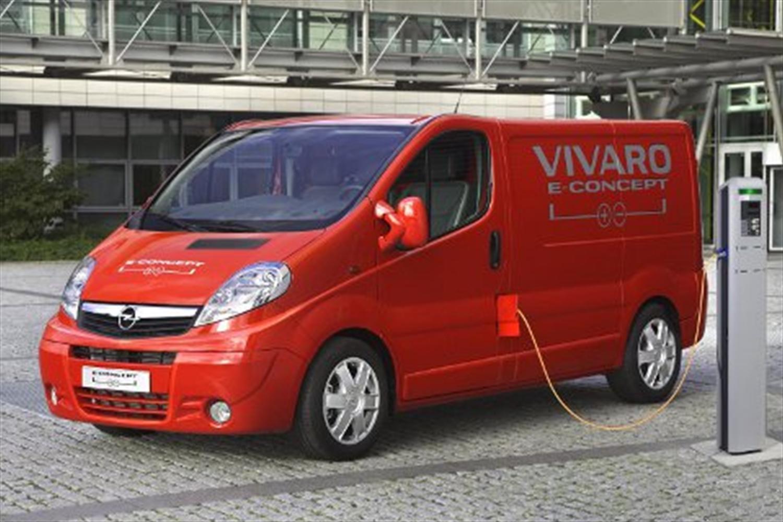 New Vauxhall Vivaro e-Concept Revealed