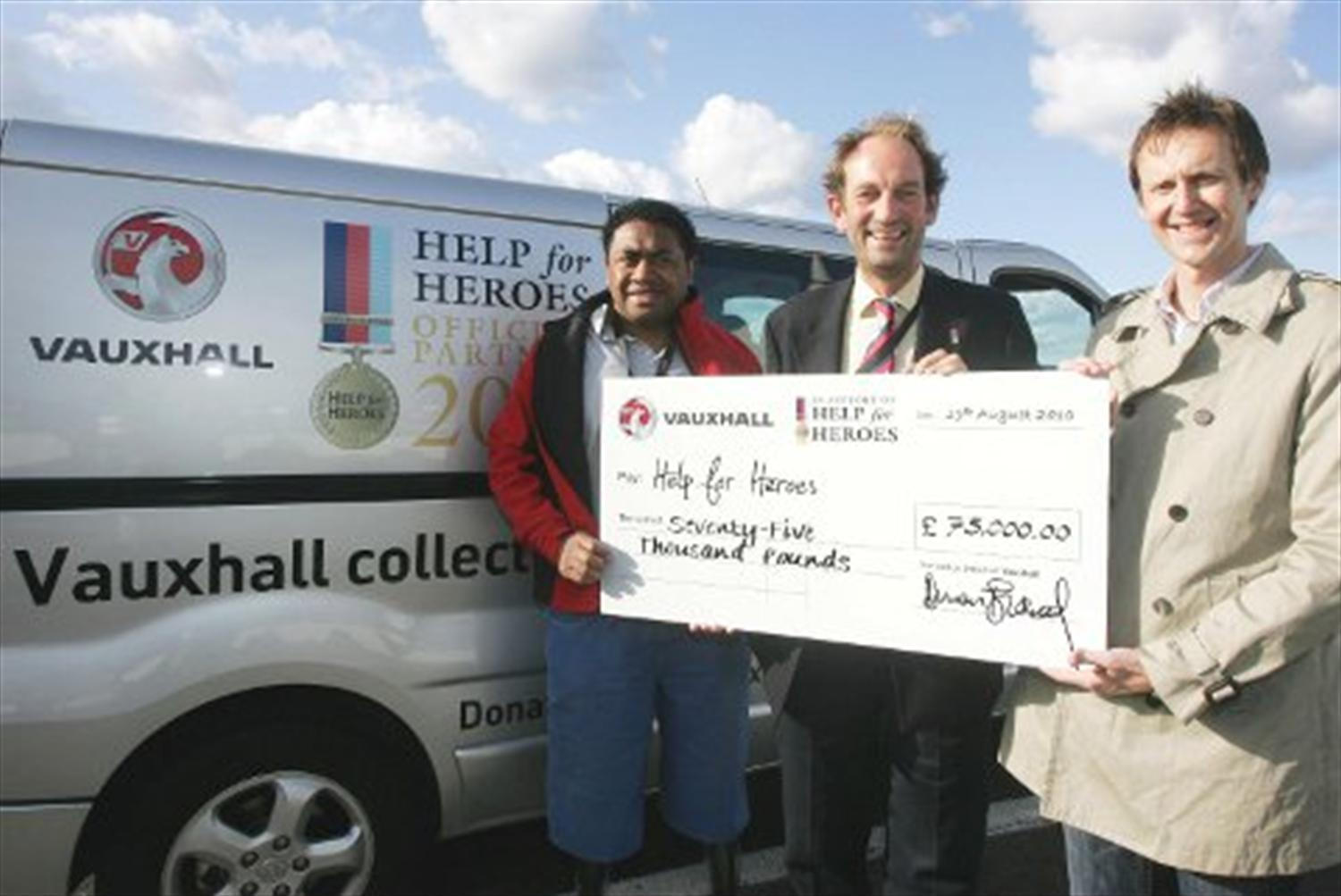 Perrys Provides Help for Heroes
