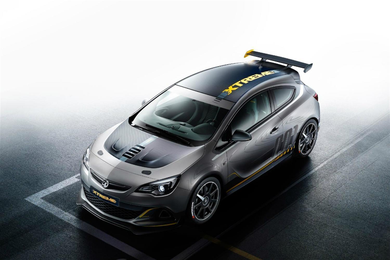 Vauxhall Astra VXR EXTREME Fully Revealed