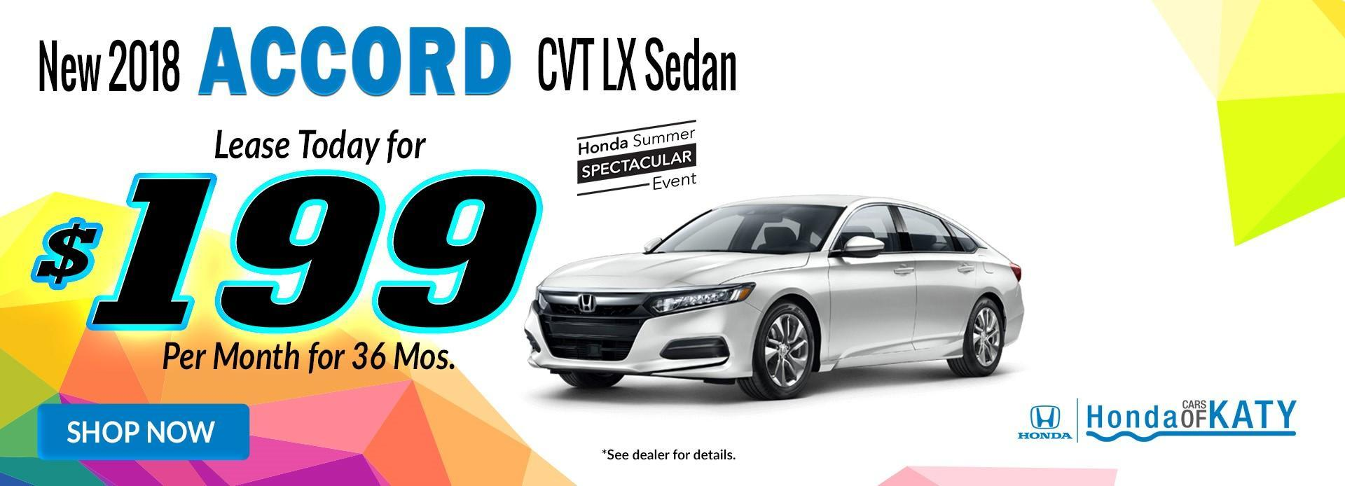 Accord Offer