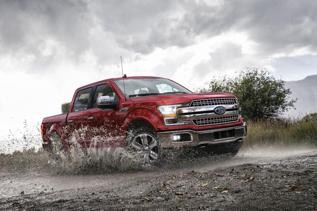 2018 Ford F-150 available technology features