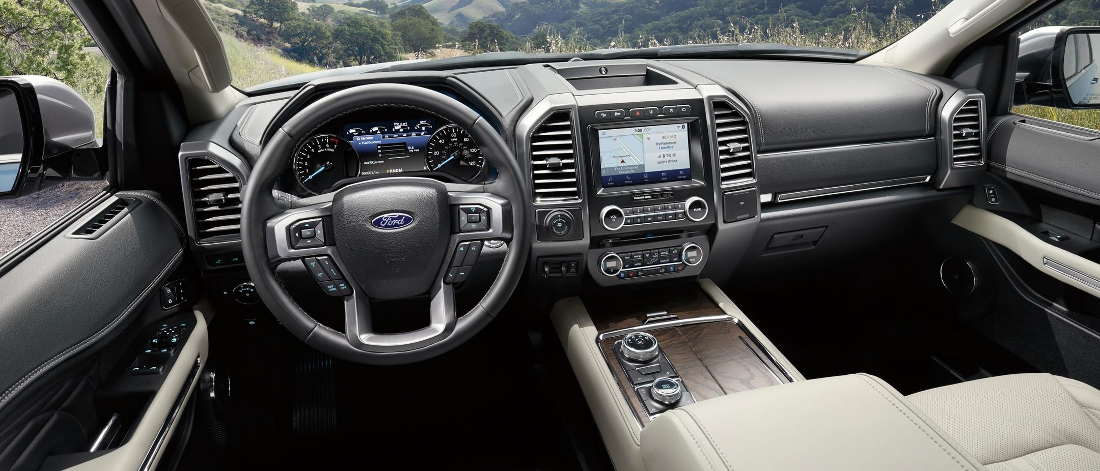 2020 Expedition Platinum MAX technology features | Ford ...