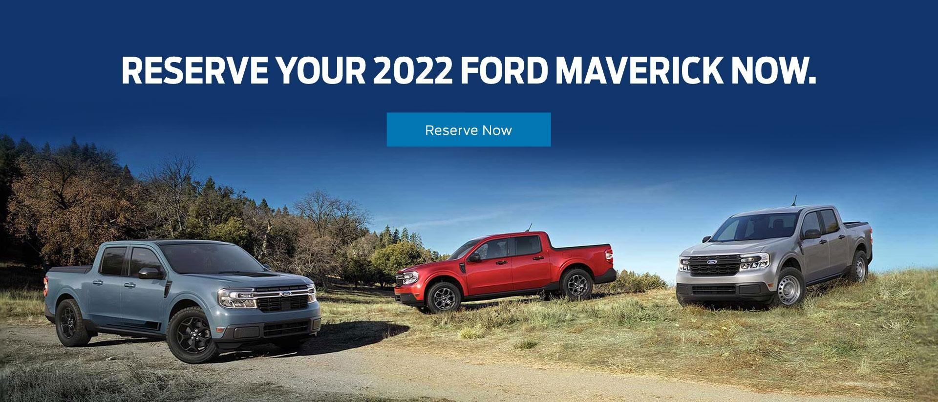 Reserve the 2022 Ford Maverick Today   Southern California Ford Dealers