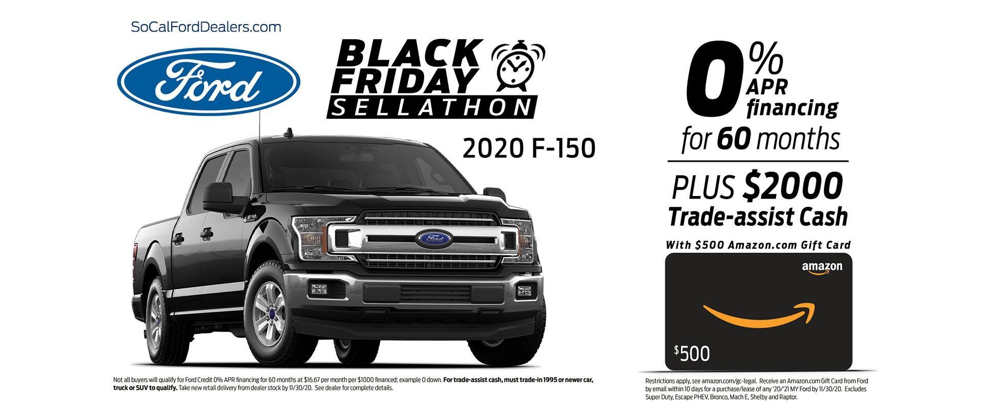 Ford F-150 Black Friday