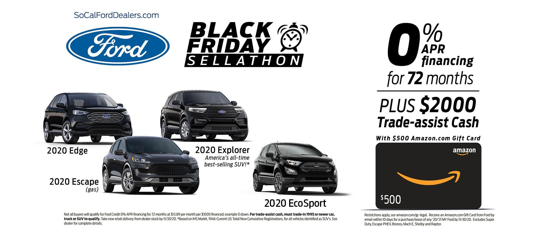 Black Friday SUVs