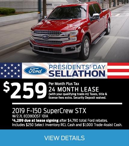 F-150 Presidential Offers