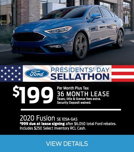 Fusion Presidential Offer