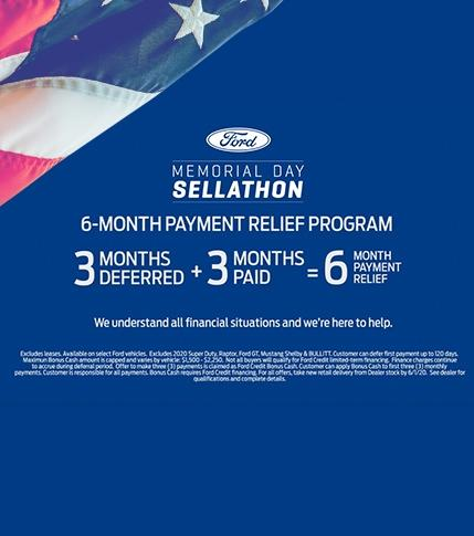 6 month payment relief