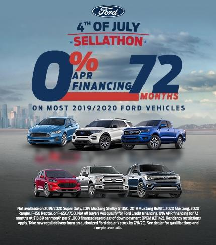 0 for 72 offer 4th of July