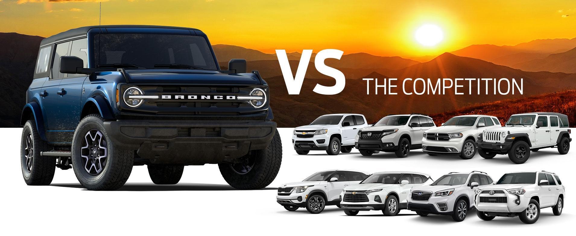 Bronco Sport vs Competition