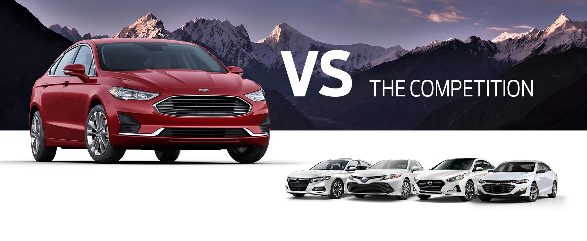 Fusion Hybrid vs Competition
