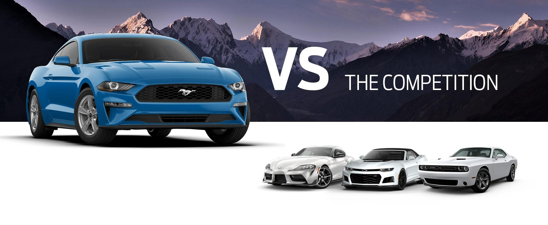 Mustang vs Competition