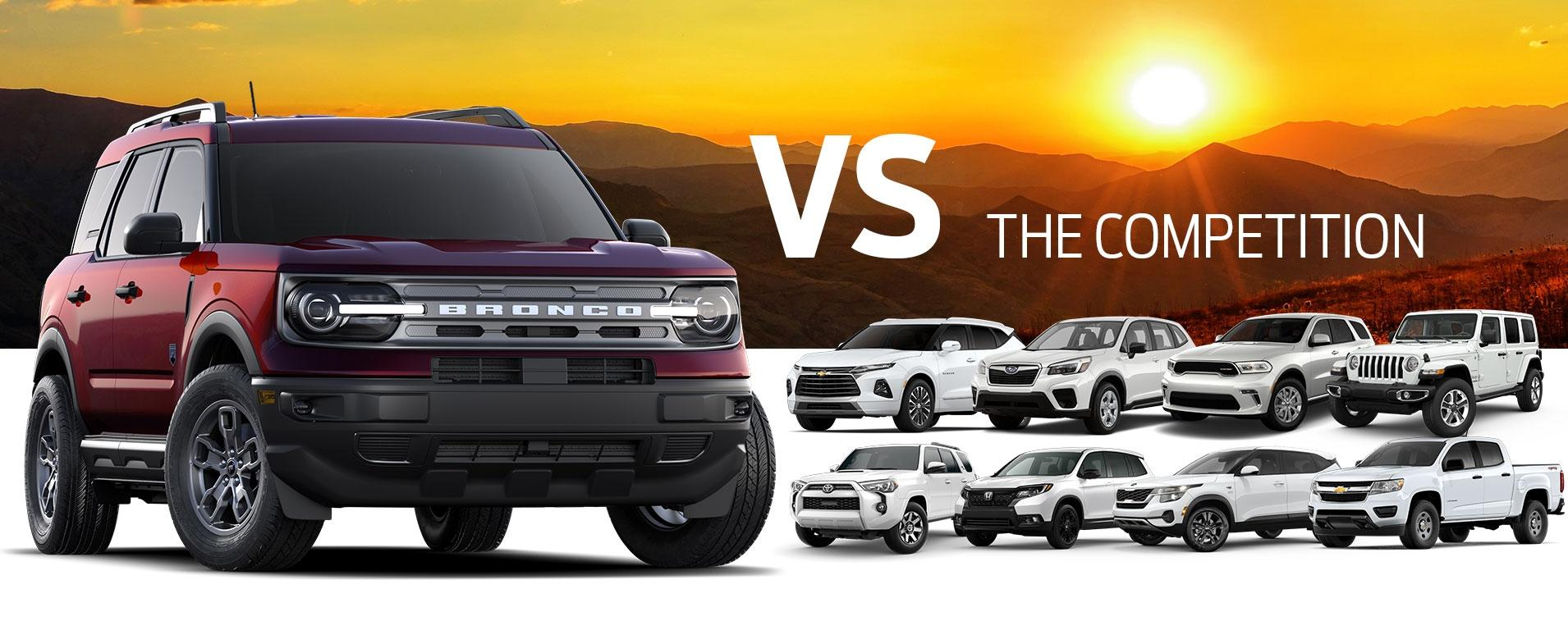 Bronco Sport vs Competition