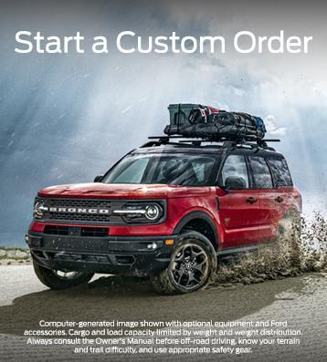 Custom Order Your New Ford from Your Local Southern California Ford Dealer