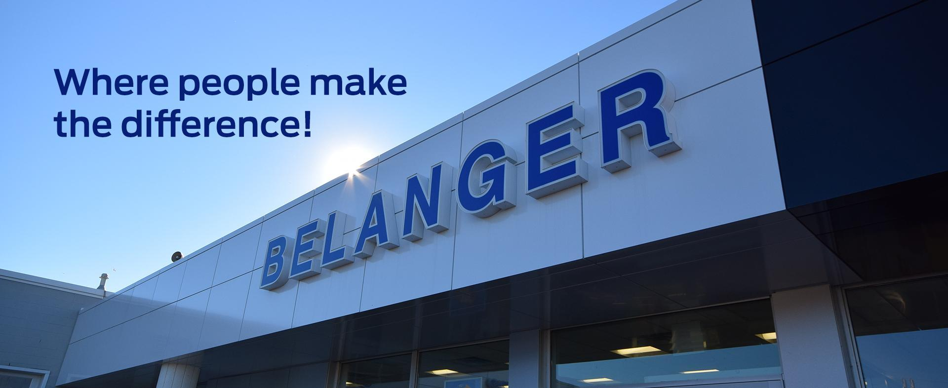 Belanger Ford Dealership Image