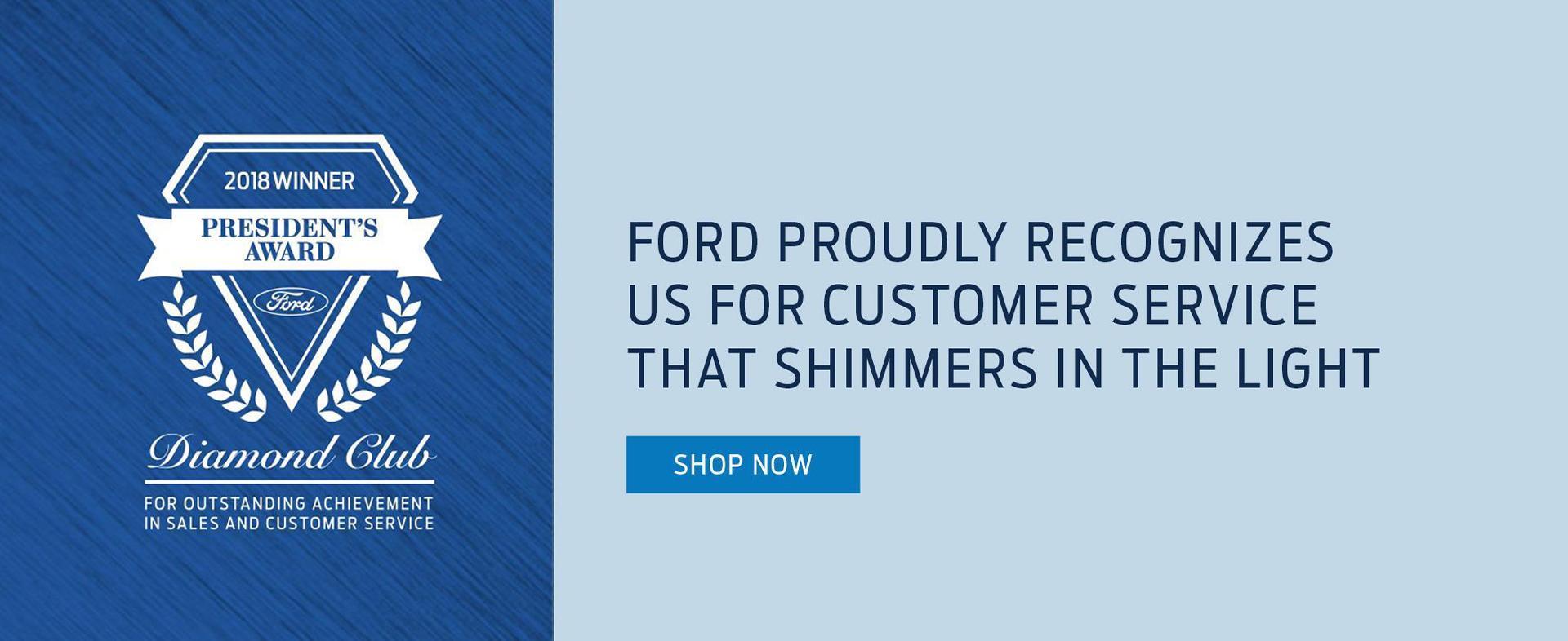 President's Award Slide Belanger Ford