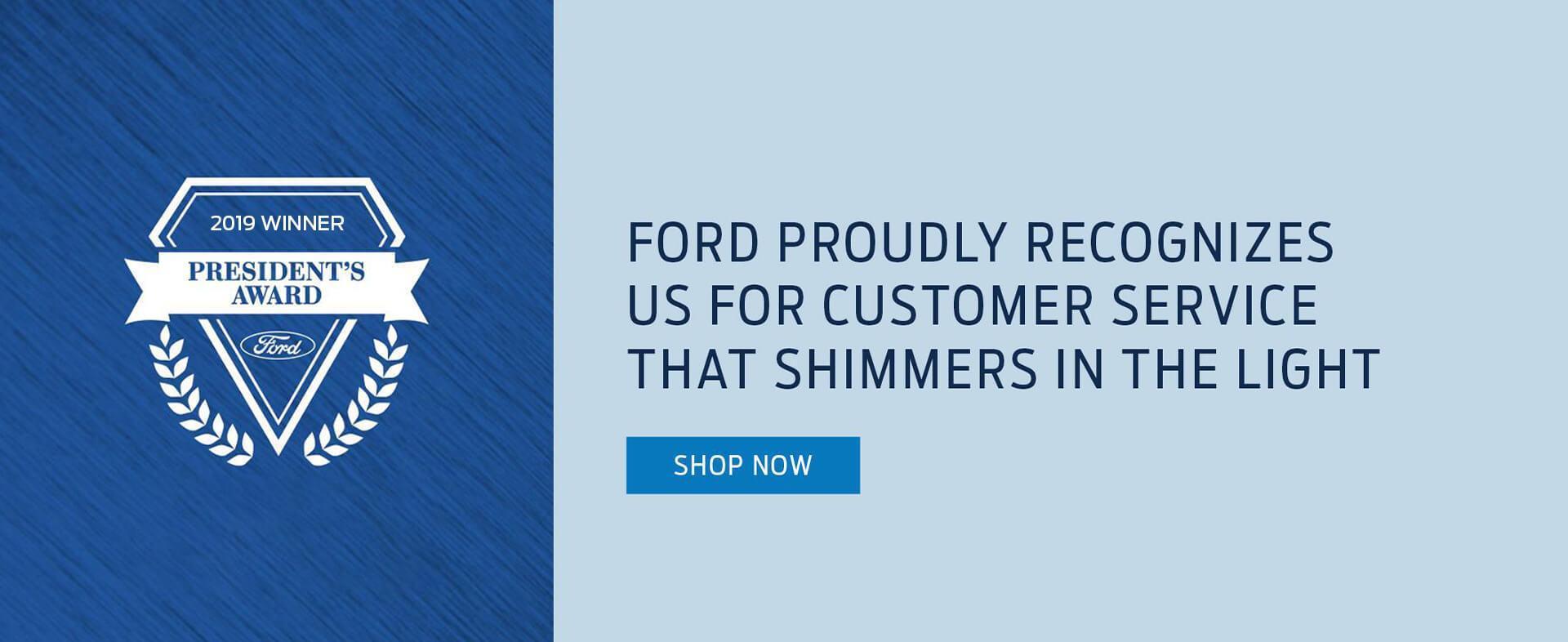 2019 Ford President's Award