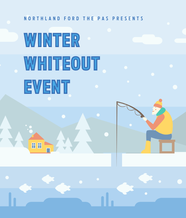 Winter Whiteout Event - The Pas