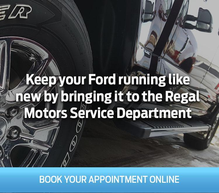 Regal Motors Service Department in Rosetown SK