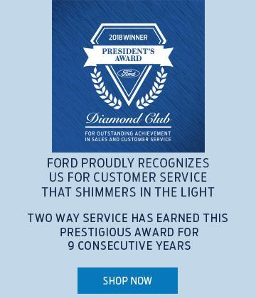 Presidents Award Two Way Service