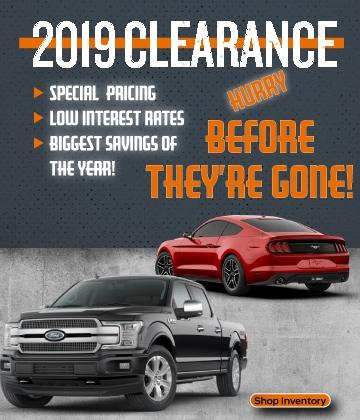 Two Way Service Ford Clearance