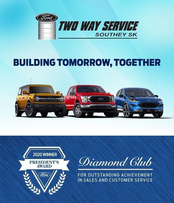 2020 Diamond Club President's Award Winner   Two Way Service