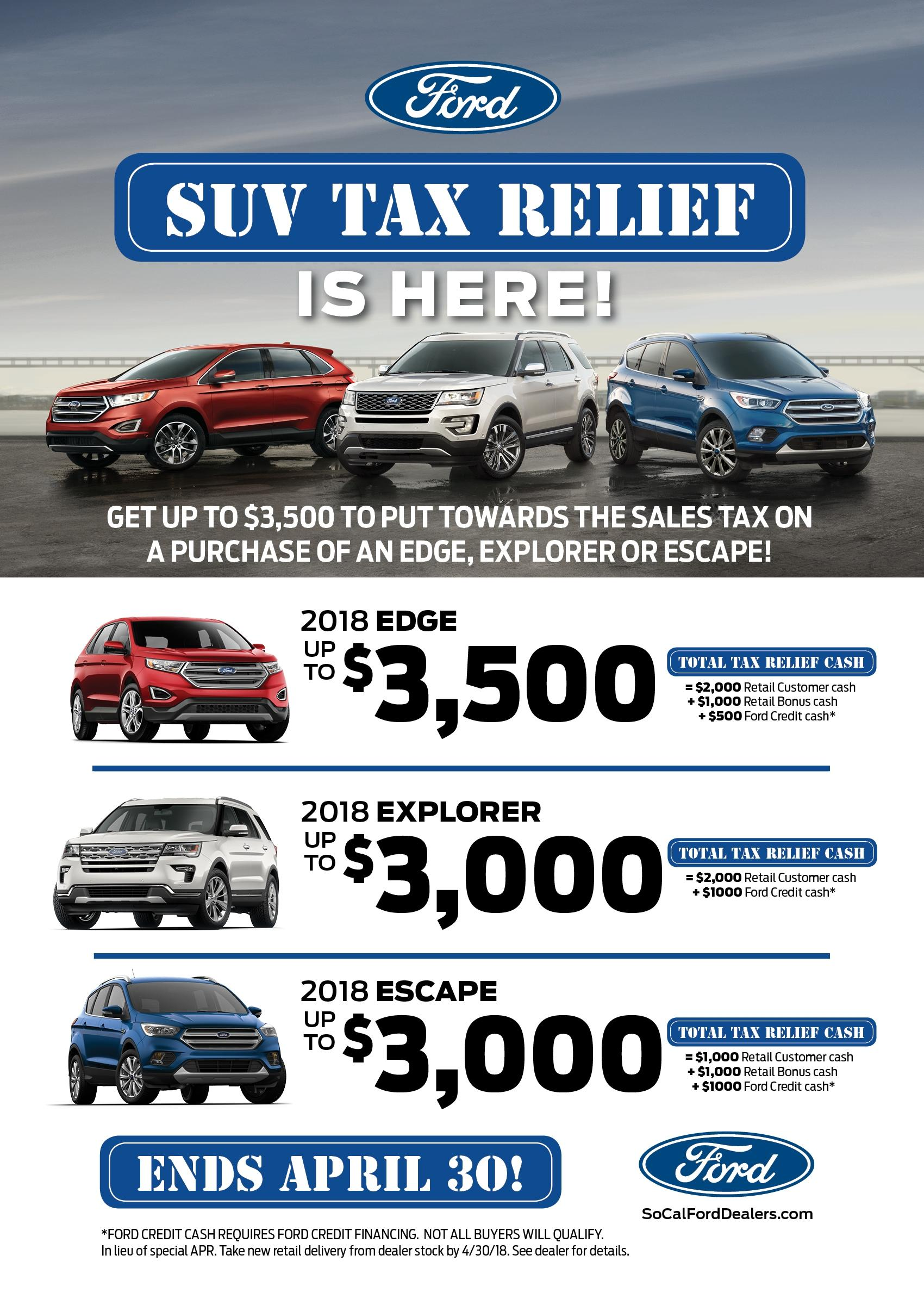 SUV Tax Relief