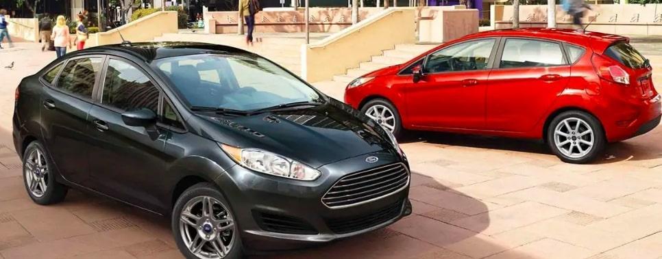 2019 Ford Fiesta S Sedan vs SE Sedan vs SE Hatch vs ST-Line vs ST