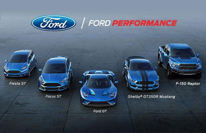 Ford Performance Vehicles Lineup