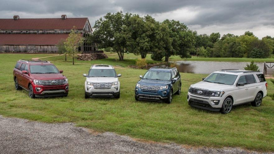 Ford Unveils Four Special-Edition SUVs